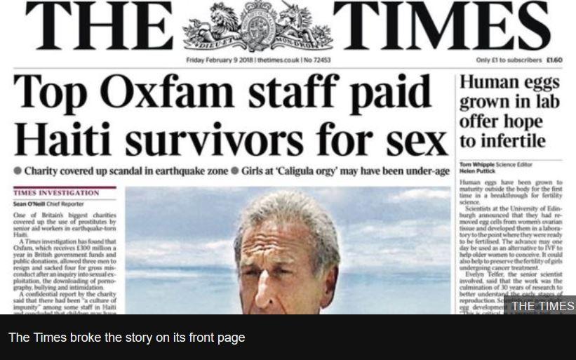 time haiti oxfam
